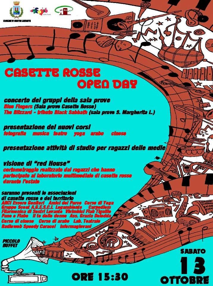 Open Day Casette Rosse