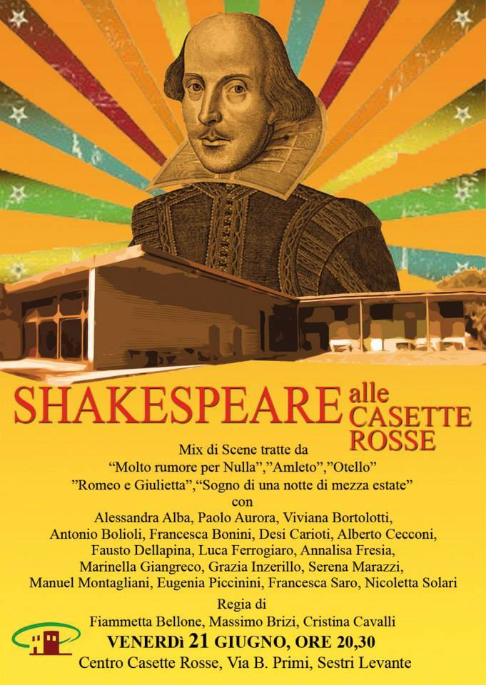 Shakespeare alle Casette Rosse