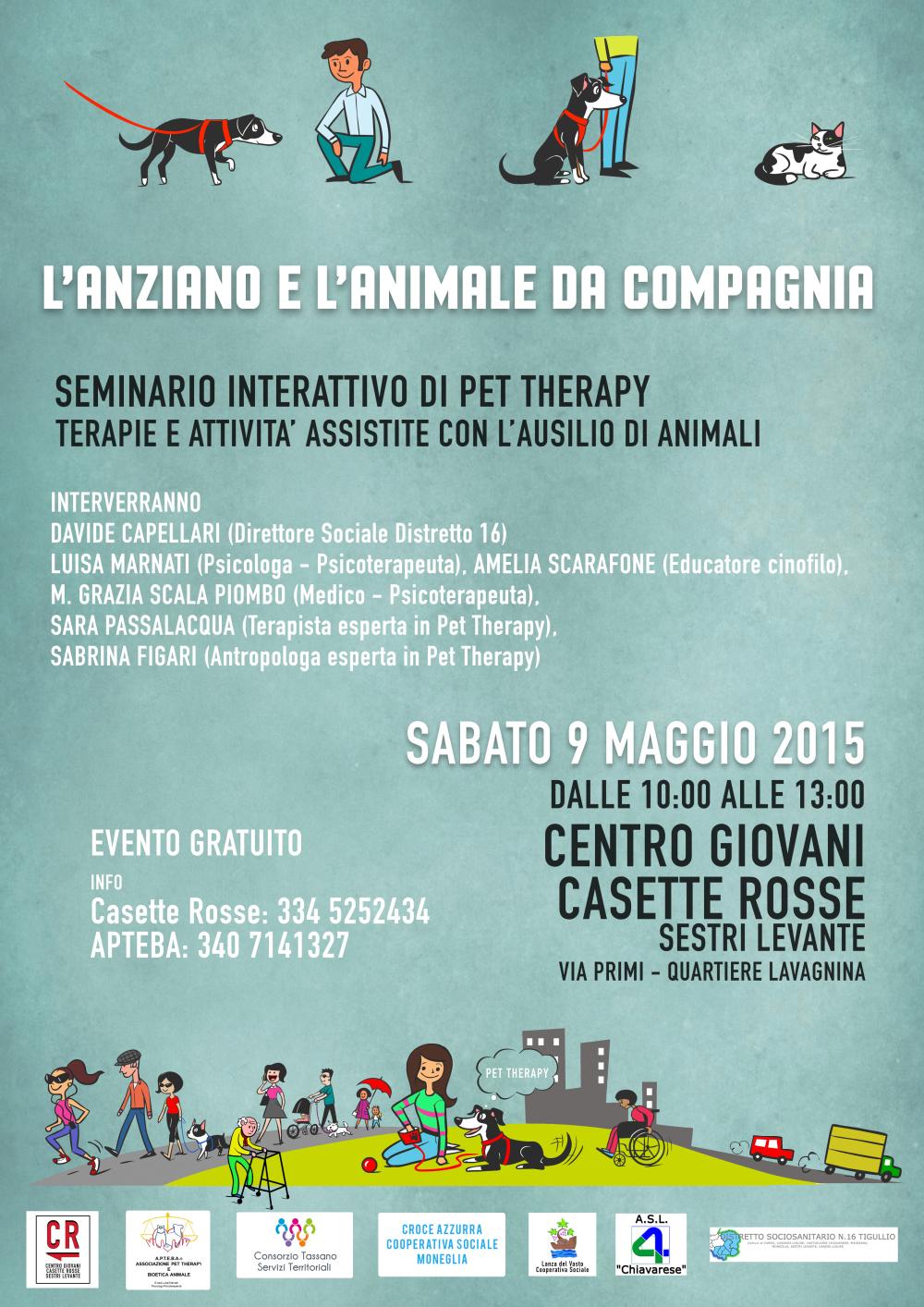 Seminario di Pet Therapy
